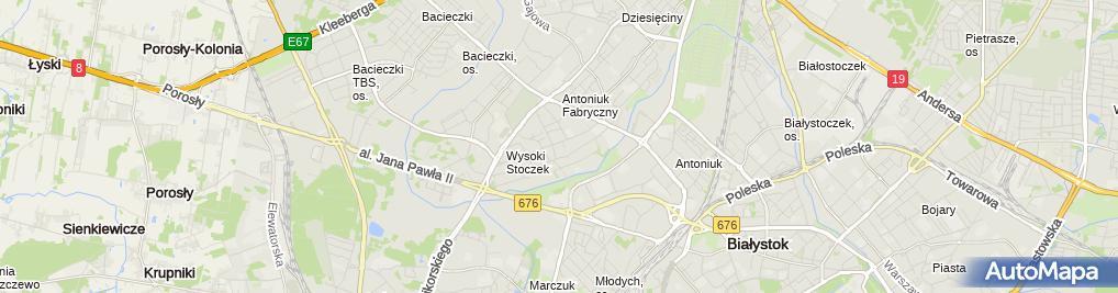 Zdjęcie satelitarne Leonard Nowik - Działalność Gospodarcza