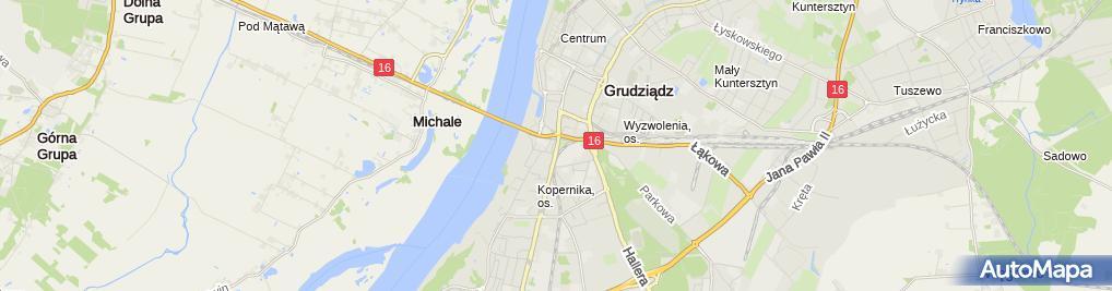 Zdjęcie satelitarne Leszek Kamiński