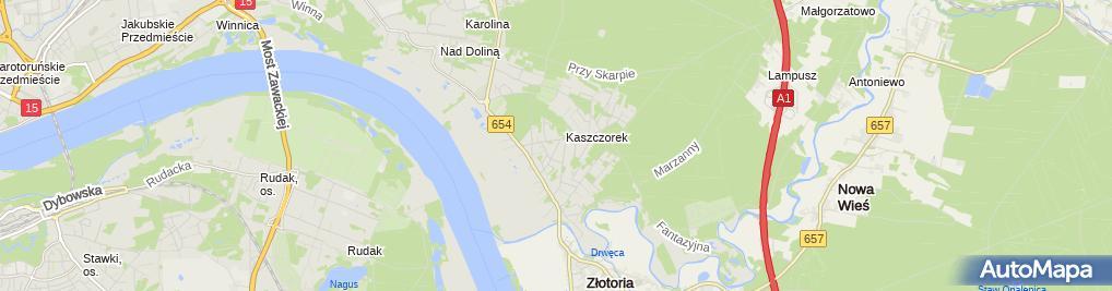 Zdjęcie satelitarne Lewandowski Daniel Opal Pompy Ciepła Produkcja, Serwis, Montaż i Instalacje Sanitarne