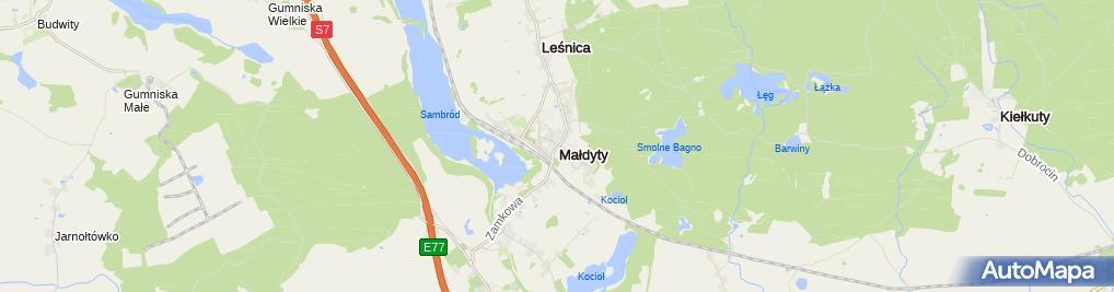 Zdjęcie satelitarne Lider Mielniczuk Marcin i Hornik Przemysław