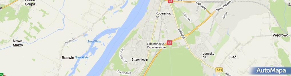 Zdjęcie satelitarne Lilianna Kiełpińska - Działalność Gospodarcza