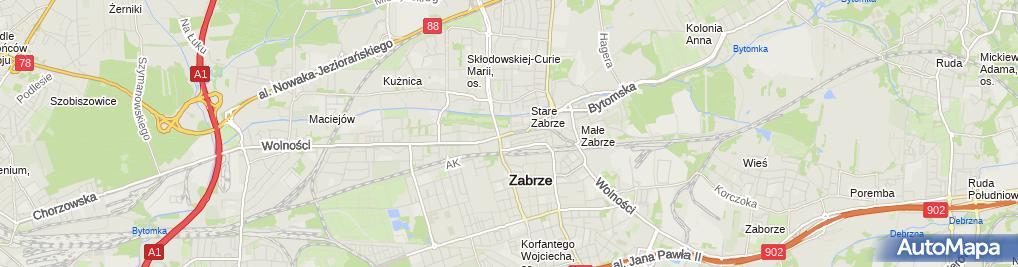 Zdjęcie satelitarne Lis Marek Laskowski Szeliga Krystyna
