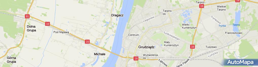 Zdjęcie satelitarne Lodziarnia Torino Magdalena Misiuda
