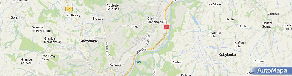 Zdjęcie satelitarne Lot Magazynowanie Paliw i Smarów