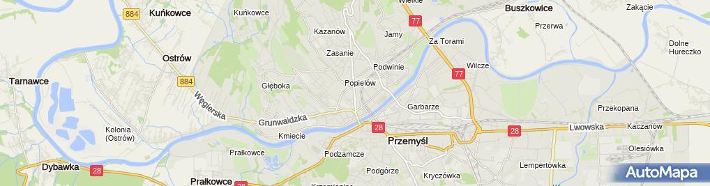 Zdjęcie satelitarne Lucyna Martyniak Zakład Krawiecki