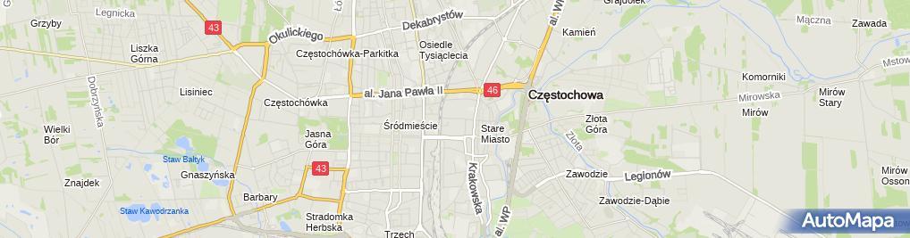 Zdjęcie satelitarne LUK - Promotion Artur Orzychowski