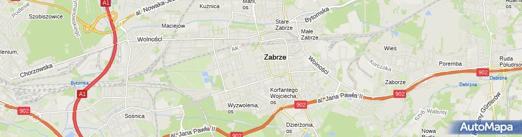 Zdjęcie satelitarne Łukasz Groń