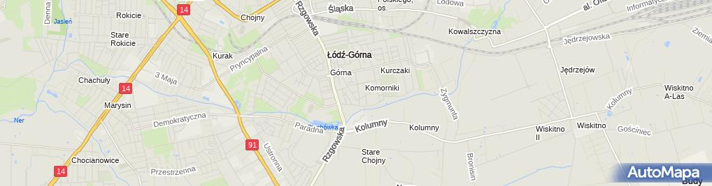 Zdjęcie satelitarne Łukasz Matysiak