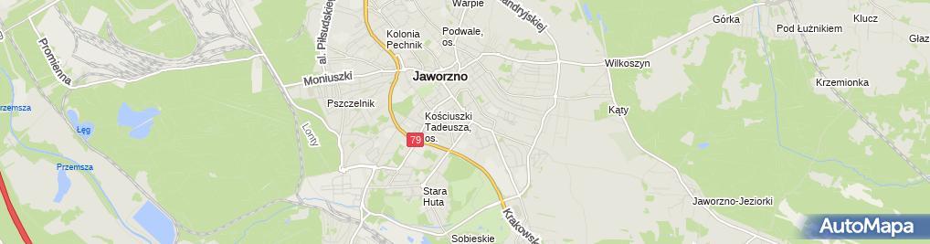 Zdjęcie satelitarne Łukasz Piotrowski Vestiss