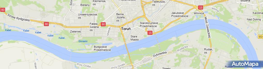 Zdjęcie satelitarne Łyczak Barbara Galeria Sztuki BR Łyczak
