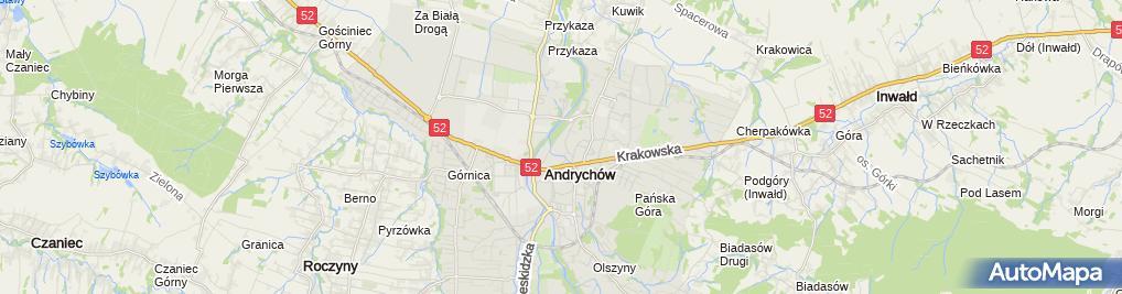 Zdjęcie satelitarne M B H Mercedes Misiewicz Barbara Płonka