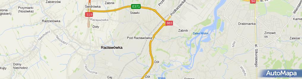 Zdjęcie satelitarne Mac Stanisław, Geologos Zakład Usług Geologicznych i Ochrony Środowiska mgr Stanisław Mac