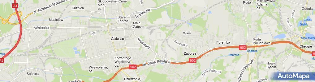 Zdjęcie satelitarne Macia Trans Firma Handlowo Usługowa