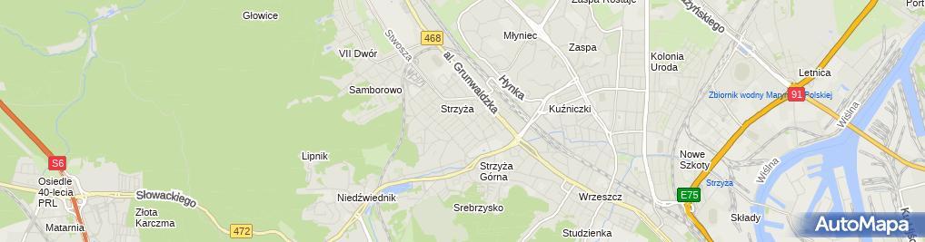 Zdjęcie satelitarne Maciej Bajków