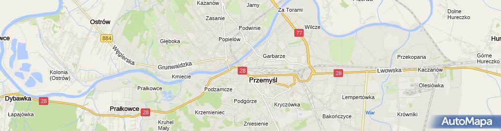 Zdjęcie satelitarne Maciej Gac - Działalność Gospodarcza