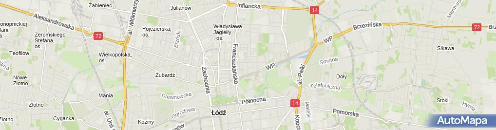Zdjęcie satelitarne Maciej Malinowski - Działalność Gospodarcza