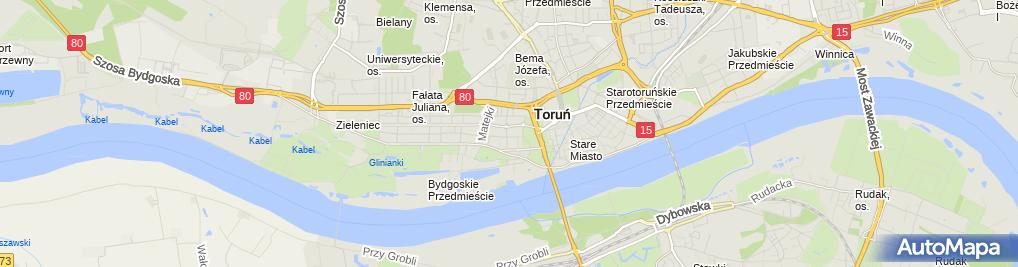Zdjęcie satelitarne Maciej Świs Usługi It