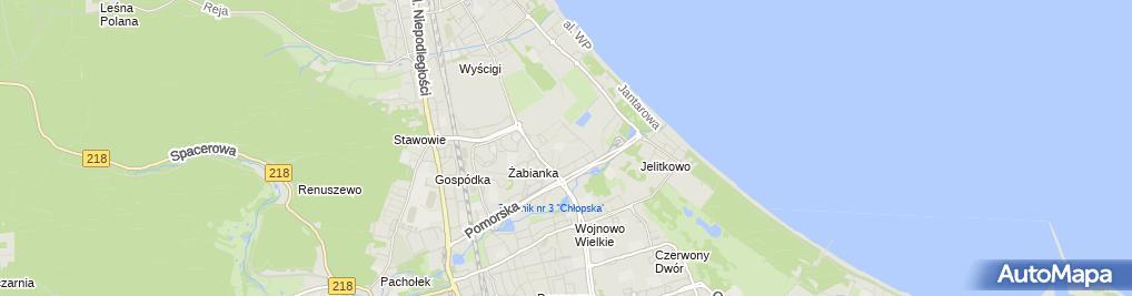 Zdjęcie satelitarne Maciej Tomicki - Działalność Gospodarcza