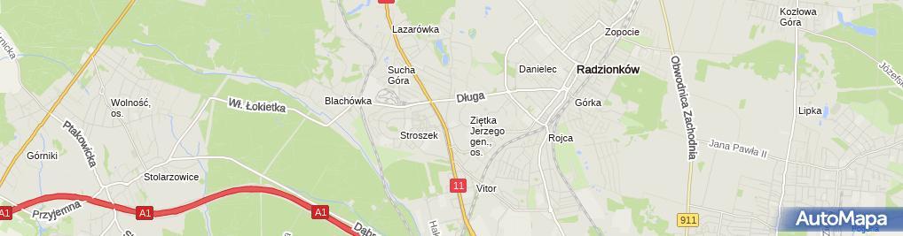 Zdjęcie satelitarne Madam Fiu Fiu Salon Piękności Katarzyna Grygorowicz