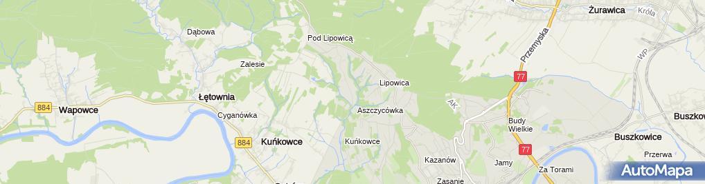 Zdjęcie satelitarne Magdalena Ziaja