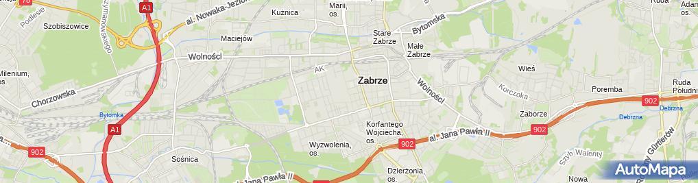 Zdjęcie satelitarne Magiczny Piasek Andrzej Kopiec