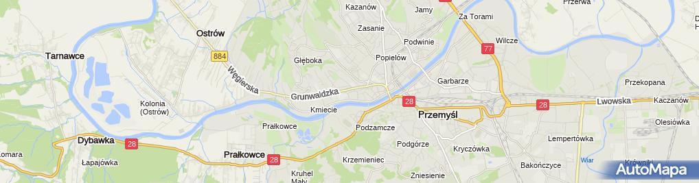Zdjęcie satelitarne Magiel Elektryczny Janusz Chrapek
