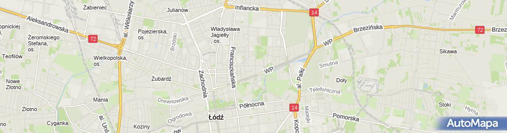 Zdjęcie satelitarne Mak Biuro Doradztwa i Usług