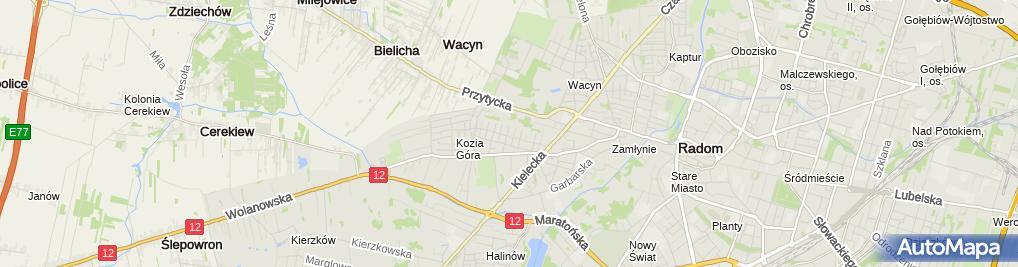 Zdjęcie satelitarne Makki Tradex Maciej Wardawa