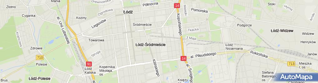 Zdjęcie satelitarne Makpol Polska