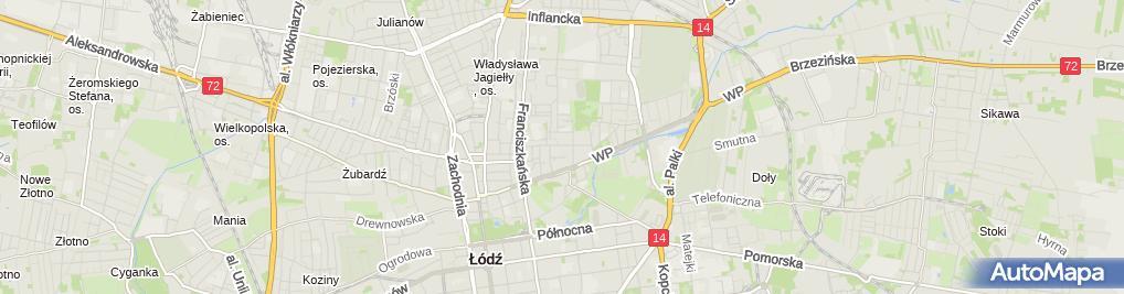 Zdjęcie satelitarne Mała Gastronomia Bar Piwny