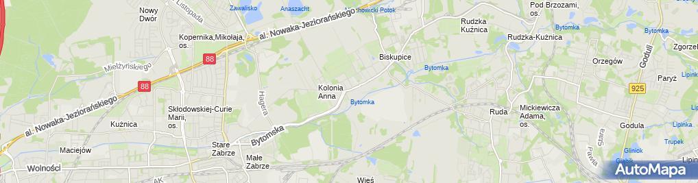 Zdjęcie satelitarne Malbar Woźniak Piotr Garmulewicz Barbara