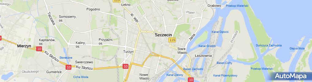 Zdjęcie satelitarne Małe Metro Krzysztof Floryn