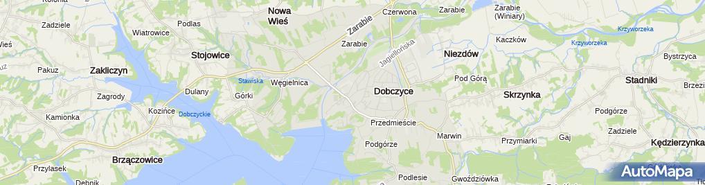 Zdjęcie satelitarne Małgorzata Lichończak - Działalność Gospodarcza