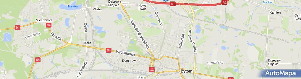 Zdjęcie satelitarne Małgorzata Wojtasik - Działalność Gospodarcza