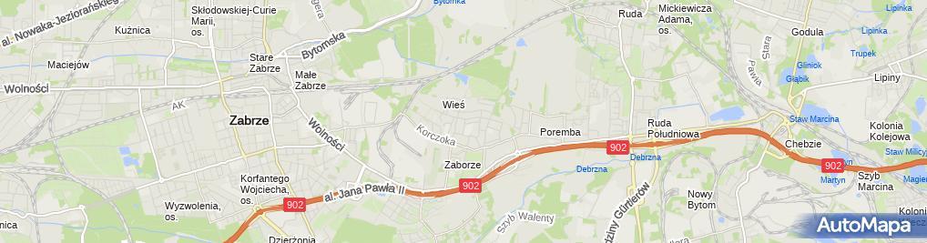 Zdjęcie satelitarne Malma Marek Piątkowski Alina Piątkowska Marianna Piątkowska