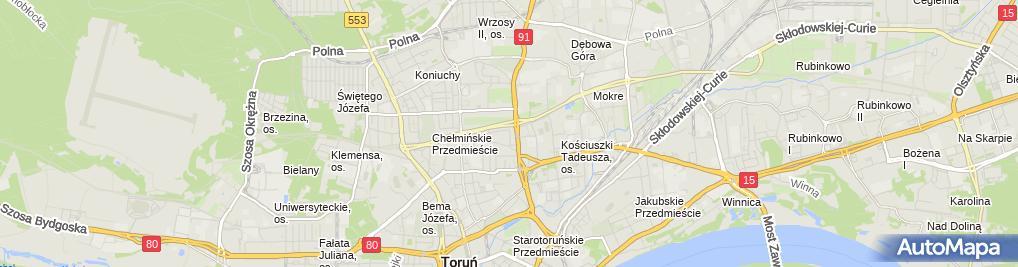Zdjęcie satelitarne Manemis