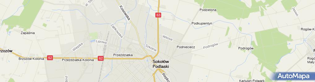 Zdjęcie satelitarne Marchel Sławomir Zakład Usługowo-Handlowy