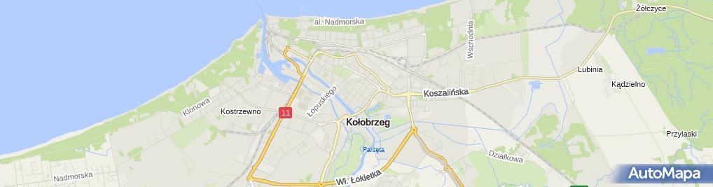 Zdjęcie satelitarne Marcin Ikwanty - Działalność Gospodarcza