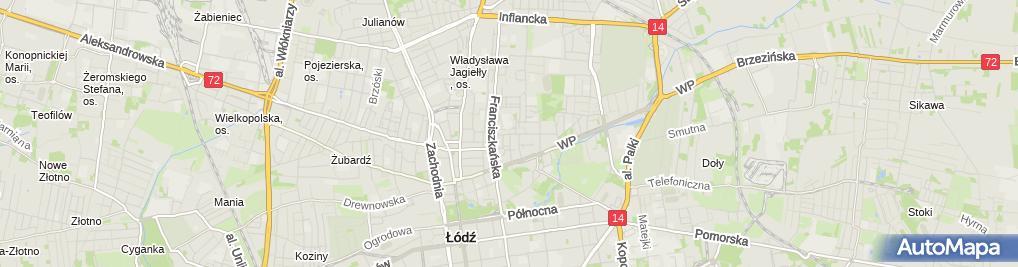 Zdjęcie satelitarne Marco Polo Hurt Detal P P H U Liliana Stańczyk