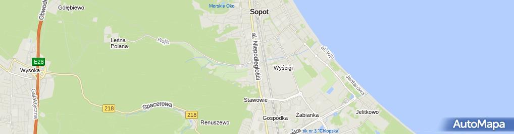 Zdjęcie satelitarne Marco