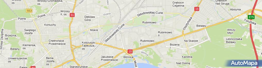 Zdjęcie satelitarne Marek Gotlibowski Przedsiębiorstwo Produkcyjno Handlowe Insanco, Jama, Przedsiębiorstwo Produkcyjno Handlowe Insanco J.M.Gotlibowscy