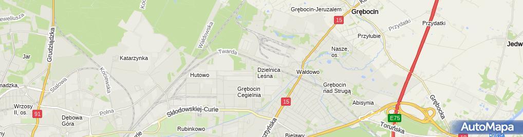 Zdjęcie satelitarne Marek Karpiński - Działalność Gospodarcza