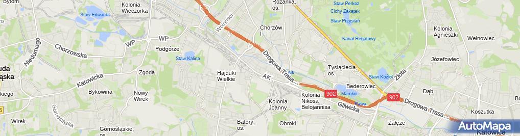 Zdjęcie satelitarne Marek Stanisław Nowak