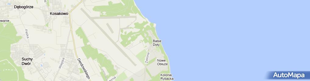 Zdjęcie satelitarne Marek Wereszczak - Działalność Gospodarcza