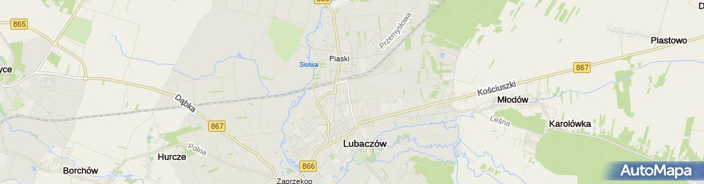 Zdjęcie satelitarne Marek Żołyniak Firma Drogowa