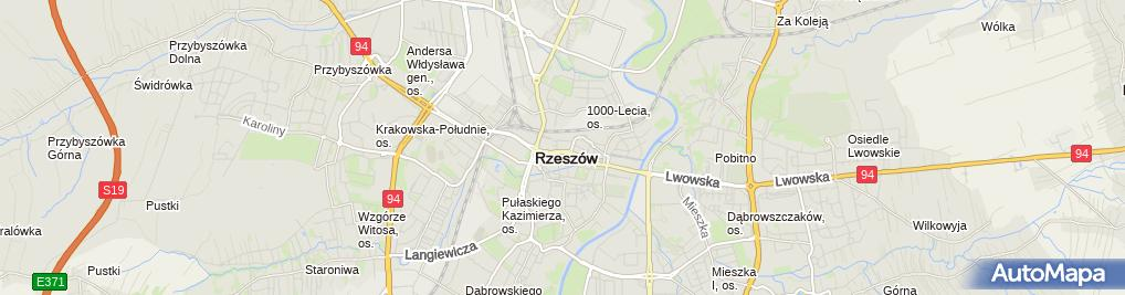 Zdjęcie satelitarne Margo Małgorzata Wielgosz
