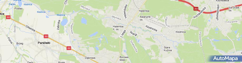 Zdjęcie satelitarne Maria Nanko - Działalność Gospodarcza
