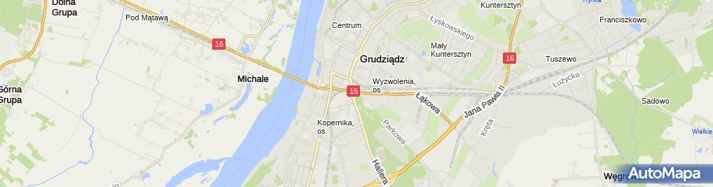 Zdjęcie satelitarne Marian Zawadzki - Działalność Gospodarcza