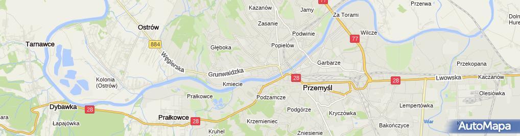 Zdjęcie satelitarne Mariola Hamryszczak Firma Usługowo Handlowa