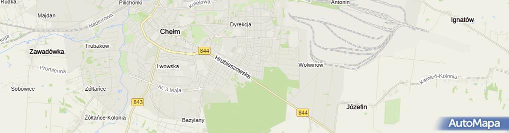 Zdjęcie satelitarne Mariusz Kozłowski Usługi Spawalnicze